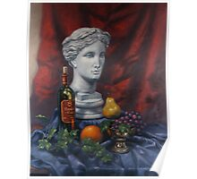 Athena Still Life by Eric Westbrook Poster