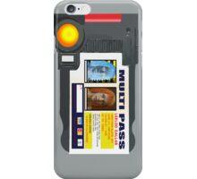 MULTI PASS iPhone Case/Skin