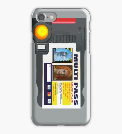 MULTI PASS iPhone Case/Skin