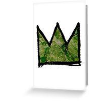 "Basquiat ""King of Dallas Texas"" Greeting Card"
