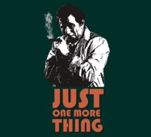 Columbo - Just one more thing by Harry Markwick