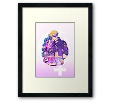 Pastel Goth Haruka & Michiru Framed Print