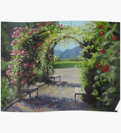 Vineyard Gardens Poster