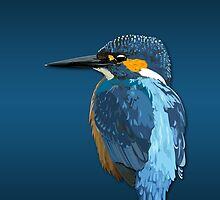 Kingfisher by jash