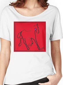 Horse - Red filly Women's Relaxed Fit T-Shirt