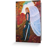 Michael Archangel - The Mission - Greeting Card