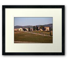 Villa Vista Framed Print