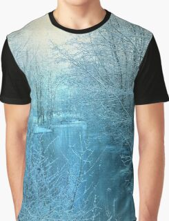Winter River Graphic T-Shirt