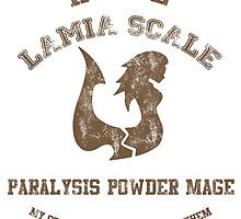 Paralysis Powder Mage of Lamia Scale  by scarletxtears