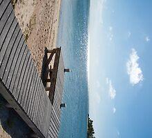Cayman Kai Beach jetty by Jaime Pharr