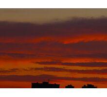 Cloud timbers Photographic Print