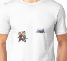 Cozy Cabin: Kitty Edition Unisex T-Shirt