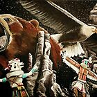 Bear and Eagle Vision Quest by Vanessa  Soaring Souls Hawk Kell
