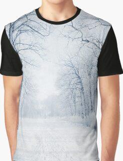Winter Path Graphic T-Shirt