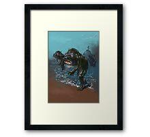 Deep ones from Innsmouth Framed Print