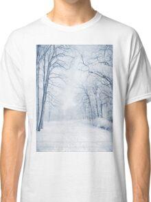 Winter Path Classic T-Shirt