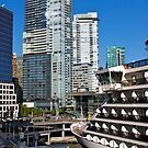 Vancouver City, Canada Place, Canada, 2012. by johnrf