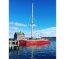 Mad Max Edgartown Harbor Photographic Print