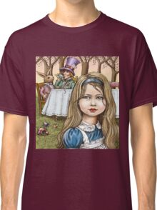 Alice and the mad tea party Classic T-Shirt