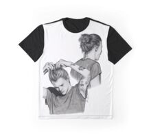 Harry Man Bun Sketches Graphic T-Shirt