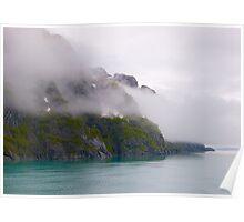 Misty Fiord #3,  Ketchikan, Alaska, 2012. Poster
