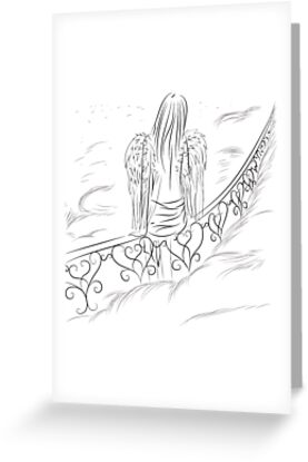 angel in the sky by Marishkayu