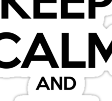 Keep Calm and Fix it Sticker