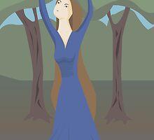 forest fairy by Marishkayu