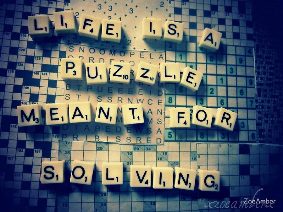 Crosswords like clockwork. by ZoeAmber