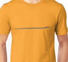 Dodge Chalenger R/T Side Fender Stripe Teeshirt - Gray Unisex T-Shirt