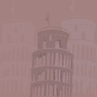 Leaning tower of Pisa background by Marishkayu
