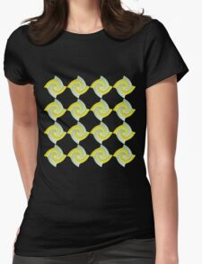 GOLD AND SILVER SWIRLED ABSTRACT DESIGN T-Shirt