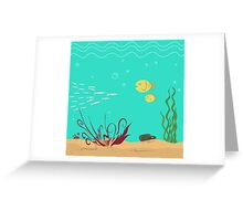 seabed Greeting Card