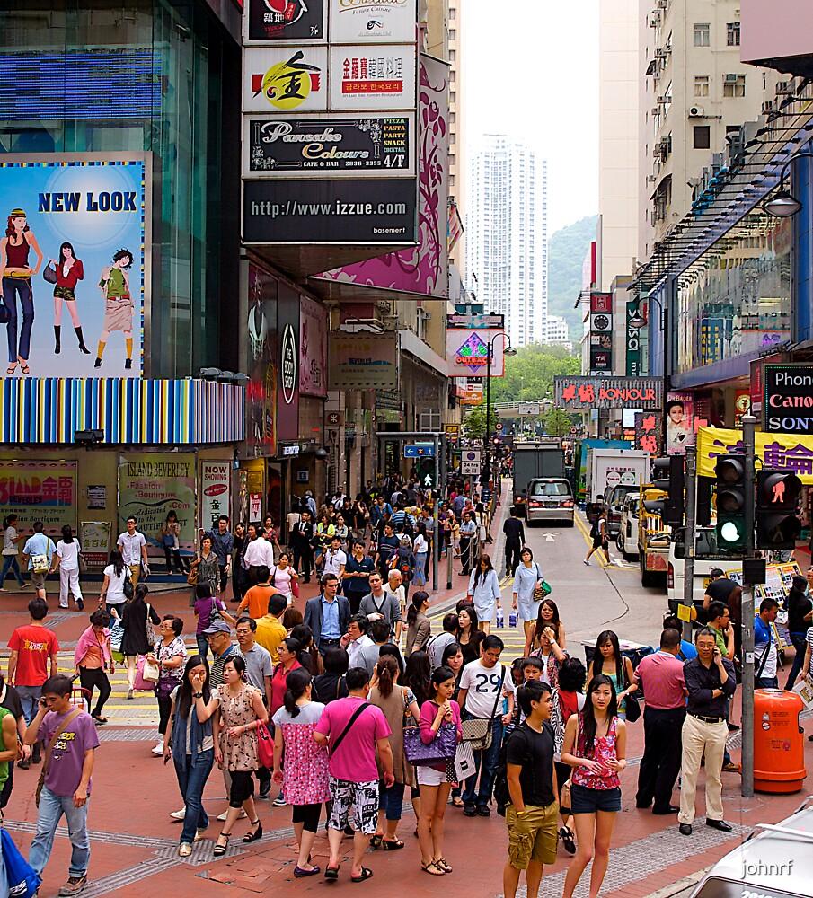 Streetscape, Hong kong, 2012. by johnrf
