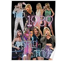 1989 World Tour Costumes Poster