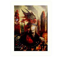 MEDICINE MAN 2012 Art Print