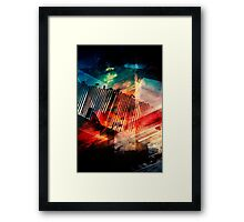 Heavenly Superiors  Framed Print