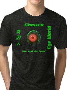 Chew's Eye World Tri-blend T-Shirt