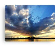 Vineyard haven Sunset Canvas Print