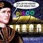 'Now is the Winter of our Disco tent' by owen bell