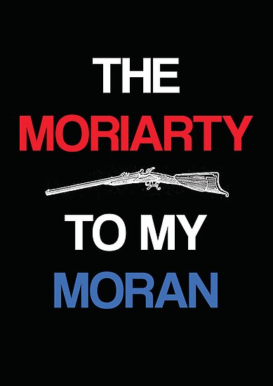 Moriarty to my Moran (Black) by KitsuneDesigns