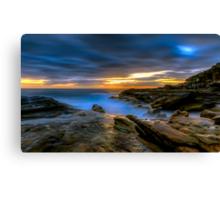 Illuminated Rock Canvas Print
