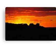 Sunset over West Chop Canvas Print
