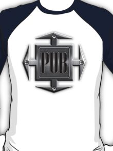 Pub in metal cross T-Shirt