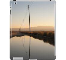 Telephone Pole Reflection iPad Case/Skin