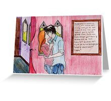 Ginny and Harry.  Greeting Card