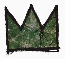 "Basquiat ""King of Austin Texas"" Kids Clothes"