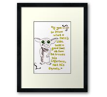 Inferiors, Dobby. Framed Print