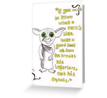 Inferiors, Dobby. Greeting Card