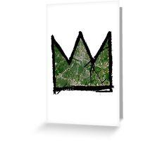 "Basquiat ""King/Queen of Austin Texas"" Greeting Card"